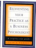 Reinventing Your Practice as a Business Psychologist