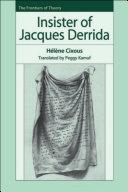 Insister of Jacques Derrida Pdf/ePub eBook