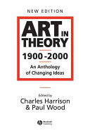 Art in Theory 1900   2000