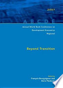 Annual World Bank Conference On Development Economics Regional 2007