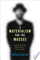 A Materialism For The Masses Book PDF