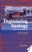 Book Cover: Engineering geology [electronic resource] : principles and practice