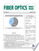 Fiber Optic Weekly Update 04 23 10