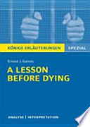 Ernest J. Gaines, A lesson before dying