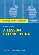 A Lesson Before Dying Pdf/ePub eBook