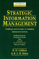 Strategic Information Management Book