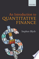Cover of An Introduction to Quantitative Finance