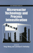 Microreactor Technology and Process Intensification Book