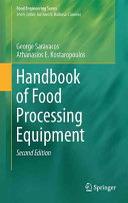 Handbook of Food Processing Equipment Book