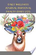 Daily Wellness Journal Personal Health Diary Log