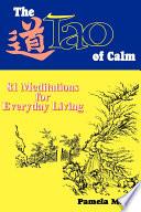 The Tao of Calm Book