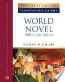 The Facts On File Companion To The World Novel Book PDF