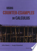 Using Counter examples In Calculus