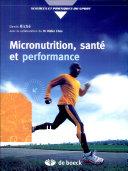 Micronutrition, santé et performance