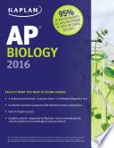 Kaplan AP Biology 2016 Book