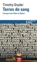 Pdf Terres de sang. L'Europe entre Hitler et Staline