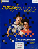 Energy and Technology Review
