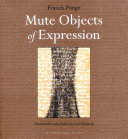 Pdf Mute Objects of Expression Telecharger