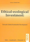 Ethical ecological Investment