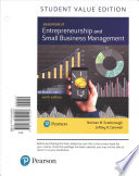 Essentials of Entrepreneurship and Small Business Management, Student Value Edition