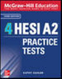 link to 4 HESI A2 practice tests in the TCC library catalog