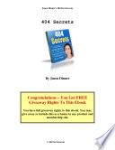 404 Page Secrets