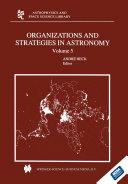 Organizations and Strategies in Astronomy [Pdf/ePub] eBook