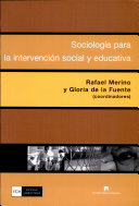 Sociología para la intervención social y educativa