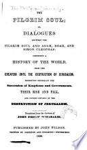 The Pilgrim Soul Book