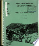 Flathead National Forest  N F    Bent Flat Timber Sale Book