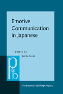 Emotive Communication in Japanese