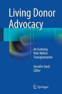 Living Donor Advocacy Book PDF