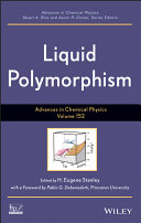 Advances in Chemical Physics, Volume 152