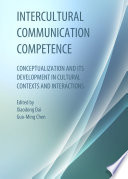 Intercultural Communication Competence Book PDF