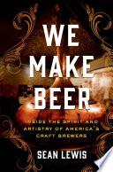 We Make Beer Book