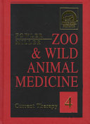 Zoo   Wild Animal Medicine Book