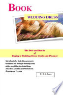 Book Wedding Dress The Do   s and Don   ts of Buying a Wedding Dress Guide and Planner