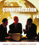 Business and Professional Communication in the Global Workplace Book