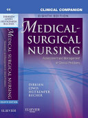 Clinical Companion to Medical Surgical Nursing   E Book
