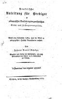 Praktische Anleitung für Prediger zu pädagogischer ...
