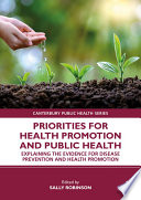 Priorities For Health Promotion And Public Health