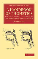 A Handbook of Phonetics