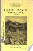 Grand Canyon National Park  Arizona