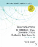 An Introduction to Intercultural Communication   International Student Edition