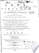 The Laws Of Maryland 1785 1799