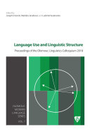 Language Use and Linguistic Structure