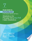 Study Guide For Psychology To Accompany Salkind And Frey S Statistics For People Who Think They Hate Statistics PDF