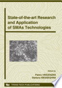 State-of-the-art Research and Application of SMAs Technologies