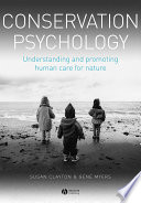 Conservation Psychology Book PDF