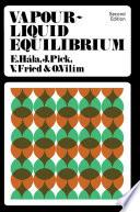 Vapour   Liquid Equilibrium